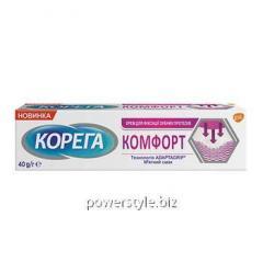 Корега крем для фиксации зубных протезов Комфорт 40г