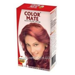 Крем-Краска Color Mate Hair Color Cream - Burgundy