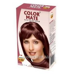 Крем-Краска Color Mate Hair Color Cream - Mahogany