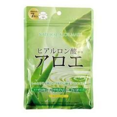 Курс натуральных масок для лица ТМ Джепен Гелс / Japan Gals с экстрактом алоэ №7