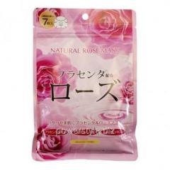 Курс натуральных масок для лица ТМ Джепен Гелс / Japan Gals с экстрактом розы №7
