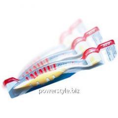 Лакалут Дуо Клин зубная щетка с поверхностью для