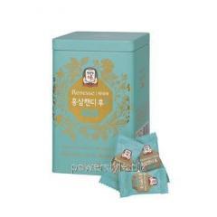 Леденцы для горла с женьшенем ТМ Корея Женьшень Корпорейшин/Korea Ginseng Corporation 160 г