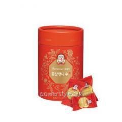Леденцы с красным корейским женьшенем ТМ Корея Женьшень Корпорейшин/Korea Ginseng Corporation 120г