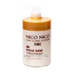 Маска для волос с экстрактом золота NICO...