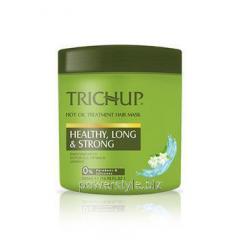Маска для здоровых, сильных и длинных волос