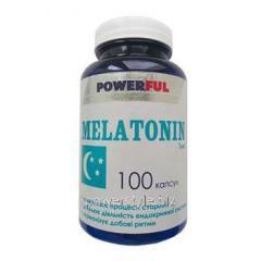 Мелатонин ТМ Пауєрфул / Powerful капсулы №100