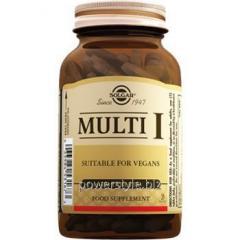 Мульти-1 таблетки №30, Солгар / Solgar®