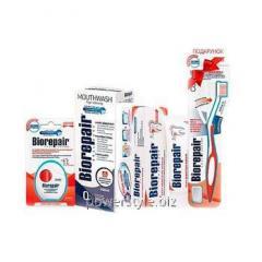 Набор Избавление от чувствительности ТМ Биорепейр с зубной щеткой в подарок