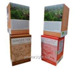 Набор подарочный органический из 4 чаев по 40г №20