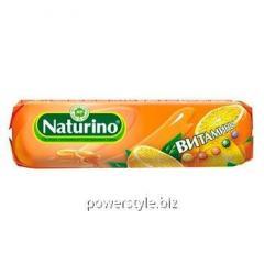 Натурино апельсин пастилки 33,5г с витаминами и