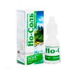 Но-Соль очищающие капли для увлажнения и промывания носа 10 мл