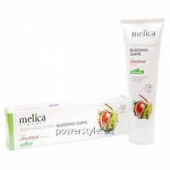 Органическая зубная паста для кровоточащих десен c экстрактом каштана ТМ Мелиса Органик / Melica Organic 100 мл