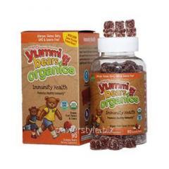 Органические витамины Мишки Ямми иммунный щит ТМ