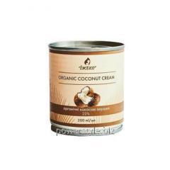 Органические кокосовые сливки 22% ТМ ЇЖЕКО 200 мл