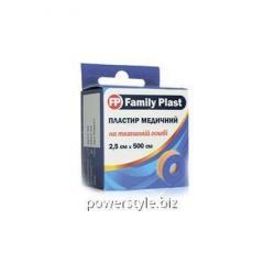 Пластырь медицинский FP Family Plast на тканевой