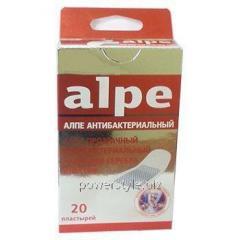 Пластырь прозрачный антибактериальный с ионами серебра классик ТМ Алпе / Alpe №20