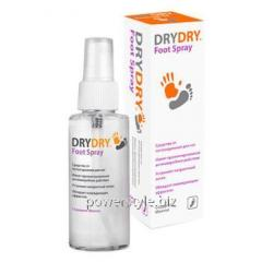 Спрей-дезодорант для ног Dry Dry Foot Spray / Драй