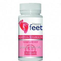 Тальк для ног контроль потливости HAPPY FEET