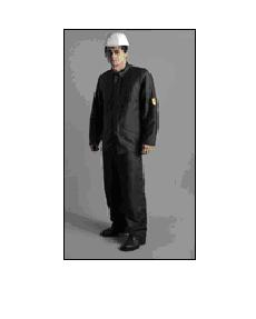 Clothes protective for welders, the Suit moleskin,