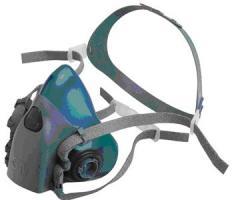 Respirator half mask 3M series 7500