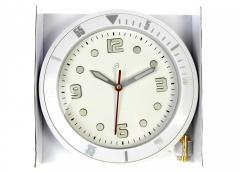 M21-300074, Часы на стену, универсальное, белый
