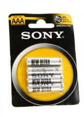 P-550031, Мини аккумуляторные батарейки ААА, 4