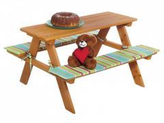 L15-550135_01, Детский стол с лавками, ,