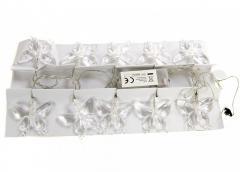 M18-270305, LED Гирлянда бабочки, ,