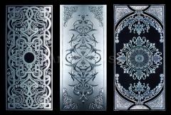 Панно декоративные из стекла, камня (мрамора, гранита, оникса) - шикарные украшения для современного стильного интерьера