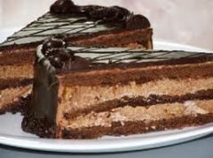 Торты бисквитные