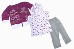 Детский спортивный костюм для девочки Одежда для