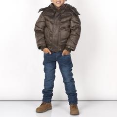 Укороченная Зимняя Куртка Для Мальчика Подростка