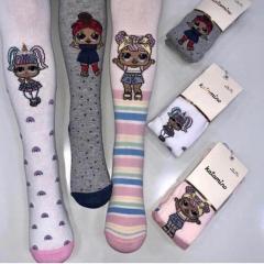 Колготки для девочки с куколками LOL-1 шт