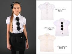 Школьная блузка для девочки Школьная форма для