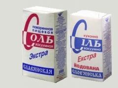 Соль поваренная пищевая выварочная вакуумная