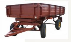 Trailers tractor 2 PTS-4. Tractor trailers.