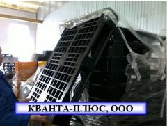 Pallets plastic 1200x800x165 mm (pallet),