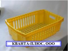 Boxes trellised tare of polypropylene, wholesale