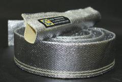 Fiber glass fabrics and grids of insulating