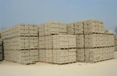 Blocks wall the price are 520 UAH for 1m.kub with