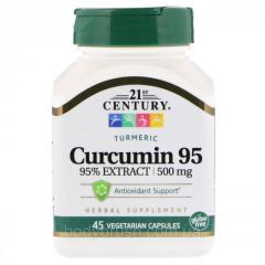 Куркумин 95 21st Century,  500 мг,  45...