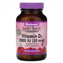 "Витамин D3 ""EarthSweet"" от Bluebonnet..."