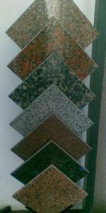 Tile modular (granite, marble, onyx, sandstone).