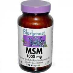 МСМ Bluebonnet Nutrition,  1000 мг,  120...