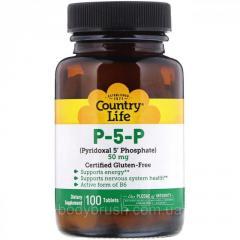П-5-Ф (пиридоксаль-5'-фосфат) Country Life, ...