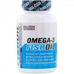 Рыбий жир EVLution Nutrition,  60 Мягких...