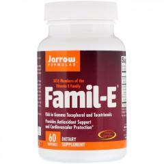 Комплекс витаминов Е Jarrow Formulas, 8 основных