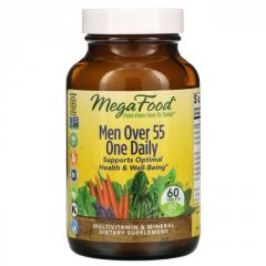 MegaFood,  Men Over 55 One Daily,  Multivitam