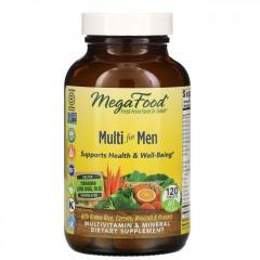 MegaFood,  Мультивитамин для мужчин,  120...